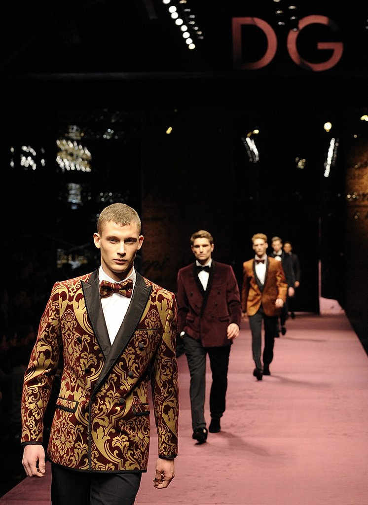 Milan: D&G Men's Fall 2009