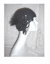 Etsy Shop Sells Feathered Hats and Couture Like Items