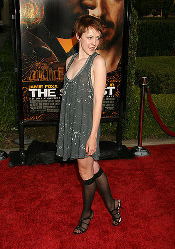 """Jenna Malone's knee highs """" Love it or leave it""""?"""
