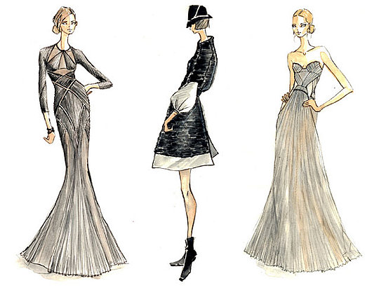 Sketches for Fall 2009.<BR>