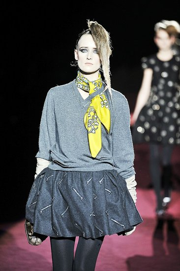 Anne Catherine Lacroix at Marc Jacobs