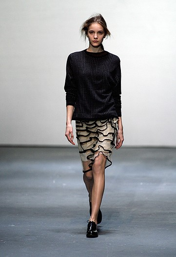 A Different Type of Christopher Kane for Fall 2009