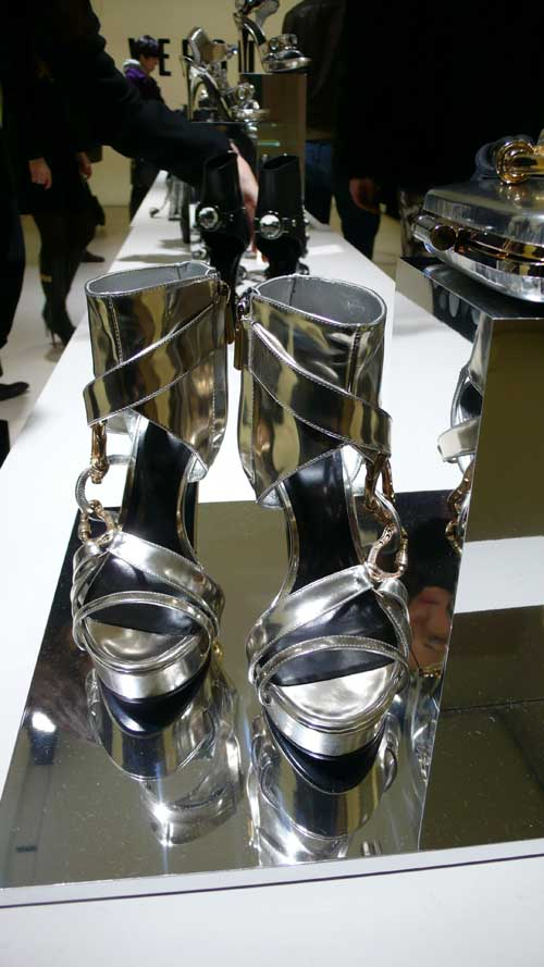First Look: Christopher Kane's Crystal-Happy Versus Accessories