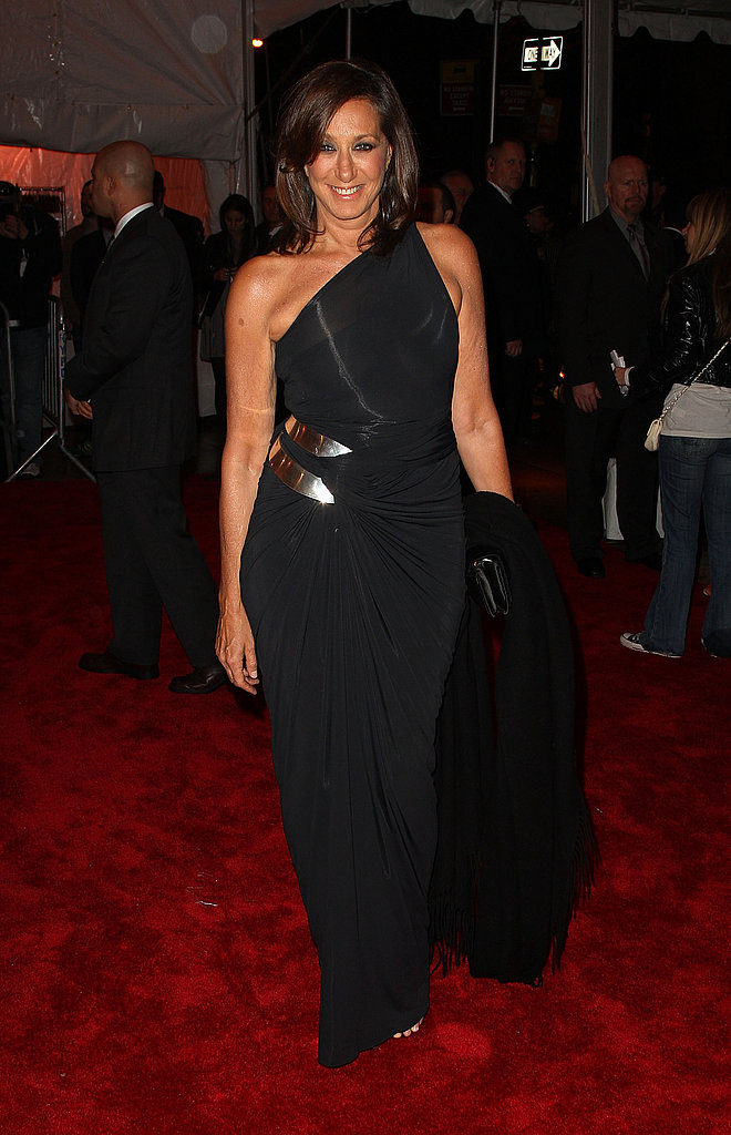 Donna Karan in her own design