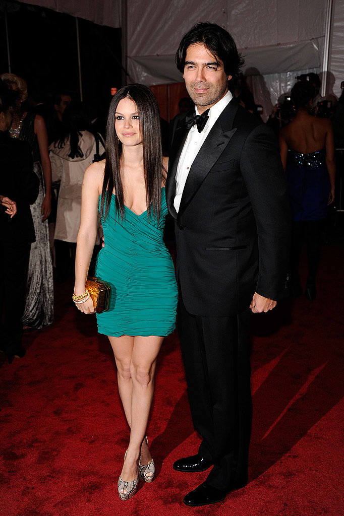 Rachel Bilson in Bally with Brian Atwood