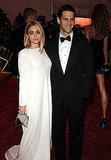 Ashley Olsen in The Row with Justin Bartha