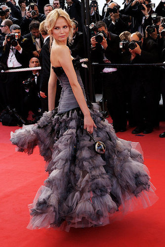 Natasha Poly, Lily Cole, Carine Roitfeld and More Fashion Figures Surface at 2009 Cannes Film Festival