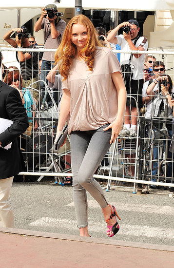 Lily Cole at The Imaginarium of Dr. Parnassus photo call