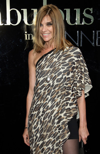 "May 22: Carine Roitfeld at Dolce & Gabbana's ""Fabulous in Cannes"" bash at Le Baoli"
