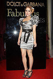 "May 22: Peaches Geldof at Dolce & Gabbana's ""Fabulous in Cannes"" bash at Le Baoli"