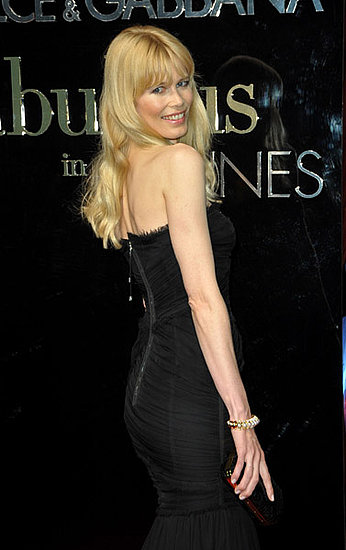 "May 22: Claudia Schiffer at Dolce & Gabbana's ""Fabulous in Cannes"" bash at Le Baoli"