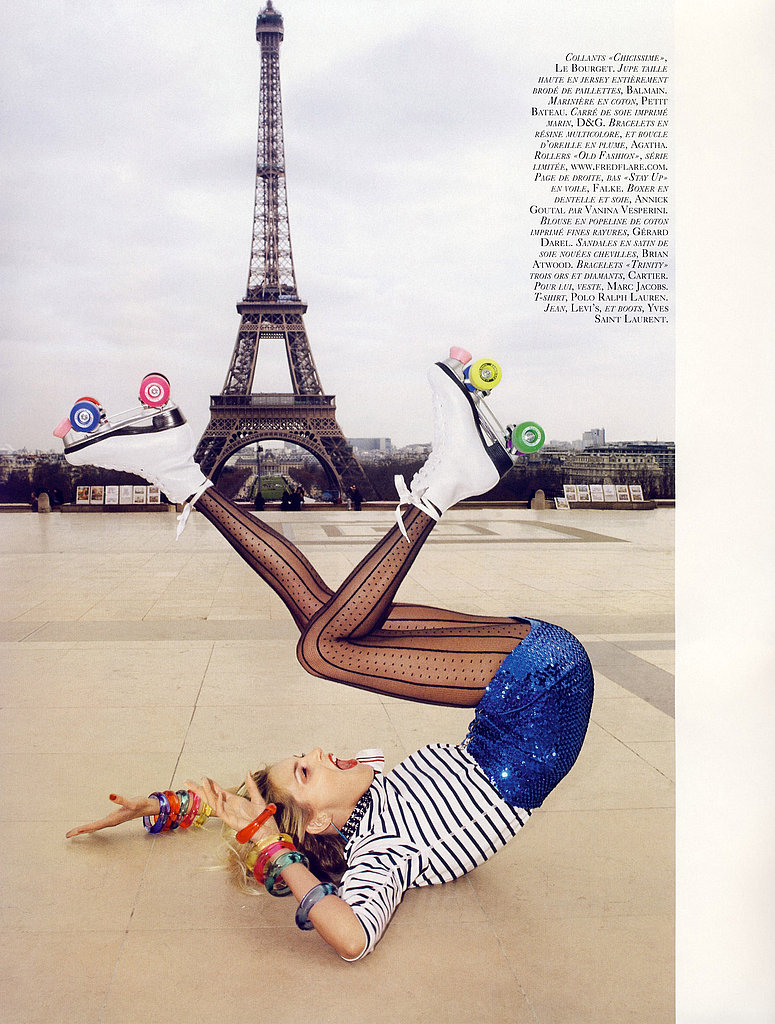 Anja Rubik Finally Scores a Major Vogue Cover with Vogue Paris June/July 2009
