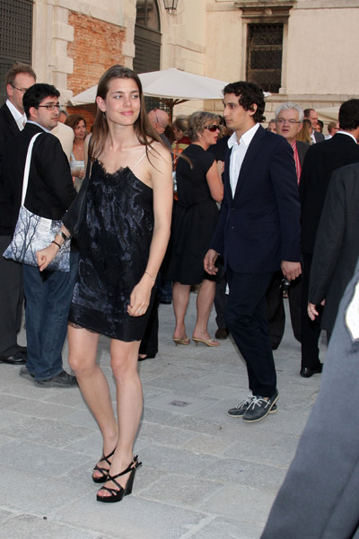 June 4: Charlotte Casiraghi and Alex Dellal at the opening of the Francois Pinault Foundation