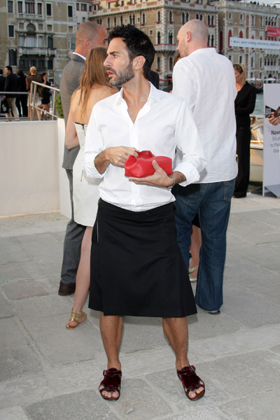 June 4: Marc Jacobs at the opening of the Francois Pinault Foundation
