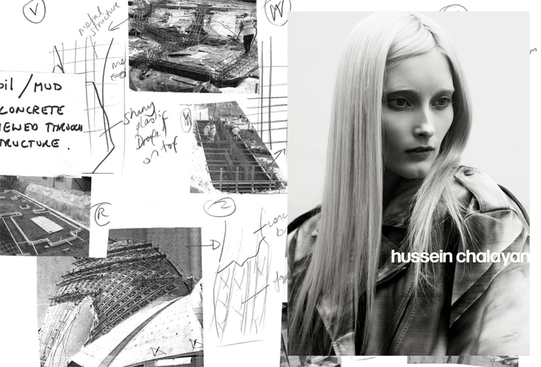 Hussein Chalayan Keeps Expanding Under Puma's Wing, This Time With Signature Fall 2009 Campaign