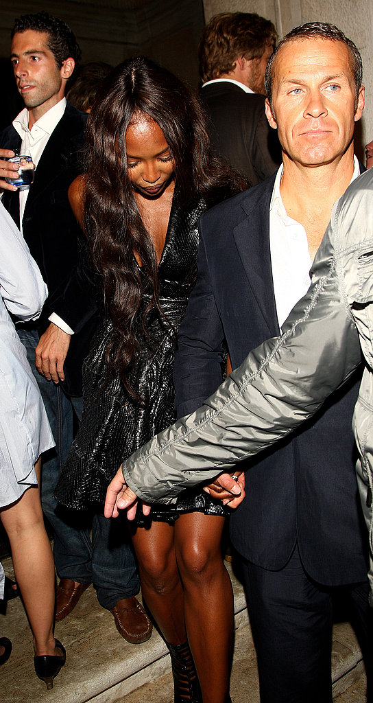 June 5: Naomi Campbell and Vladislav Doronin at L'Uomo Vogue's Art Issue Opening Party