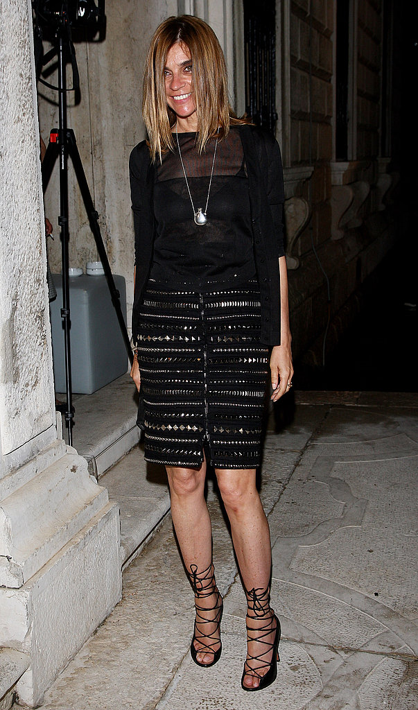 June 5: Carine Roitfeld at L'Uomo Vogue's Art Issue Opening Party