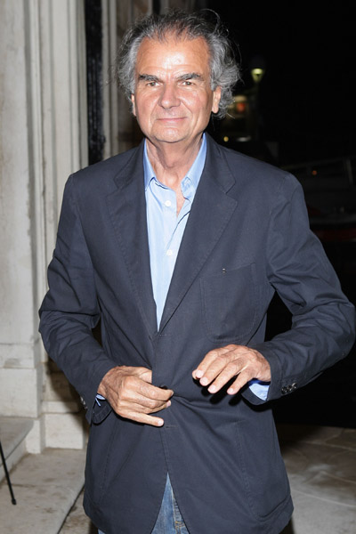 June 5: Patrick Demarchelier at L'Uomo Vogue's Art Issue Opening Party