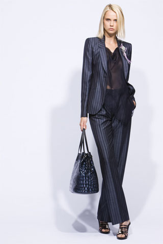 Giorgio Armani Brings Out More '80s Flair for Cruise 2010