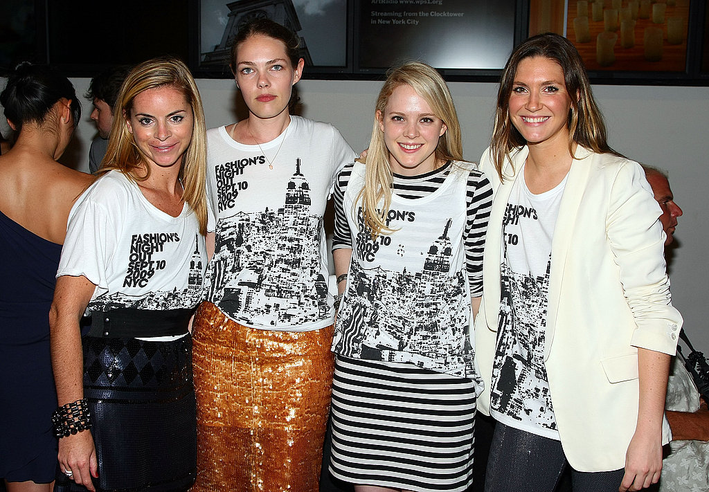 Vogue's Florence Kane, second from the left.