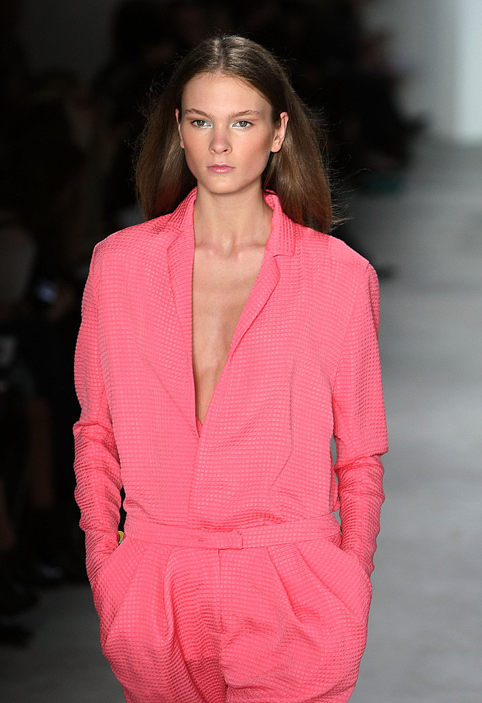 Preen Goes In With '90s Grunge, Comes Out with Neon Pink for Spring 2010