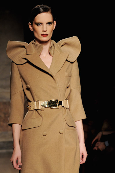 Milan Fashion Week: Francesco Scognamiglio Fall 2009