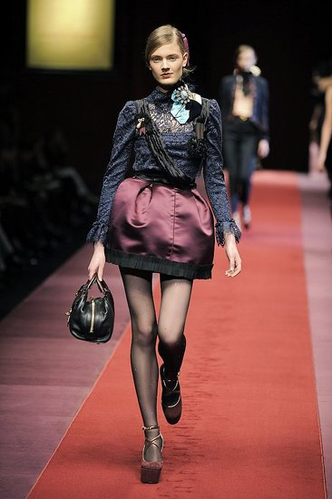 Milan Fashion Week: D&amp;G Fall 2009 