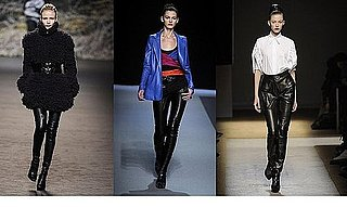 Fall 2009 Paris Trend Report: Leather Trousers