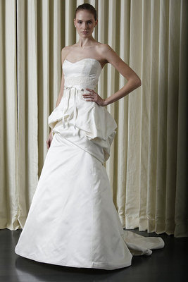 New York Bridal Market: Monique Lhuillier Spring 2010