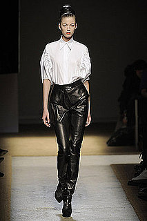 Fall 2009 Trend Report: Leather Trouser Love