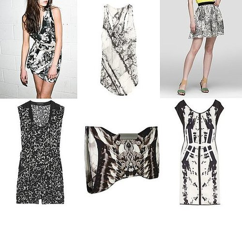 Shopping: Black & White X-Ray Prints