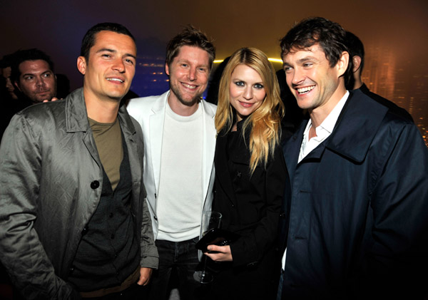 Orlando Bloom, Christopher Bailey, Claire Danes and Hugh Dancy