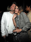 Christopher Bailey and Alexa Chung