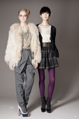 3.1 Phillip Lim Fall 2009 Look Book Featuring Tao Okamoto
