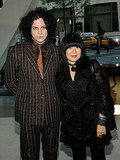 Jack White and Anna Sui