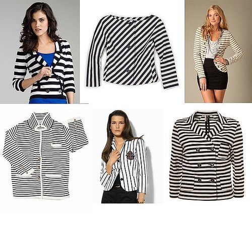 Shopping: Black & White Jackets For Midseason