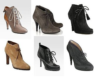 Shopping: Lace-Up Ankle Boots For Fall