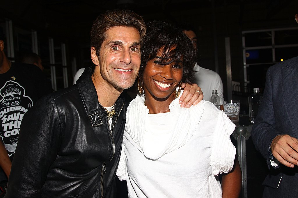 Perry Farrell and Santigold