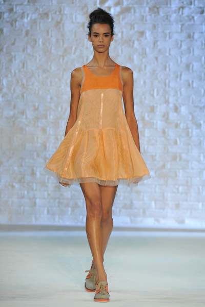 New York Fashion Week: Philosophy Di Alberta Ferretti Spring 2010
