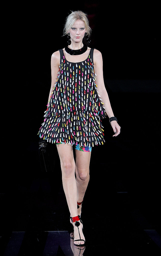 Milan Fashion Week: Emporio Armani Spring 2010