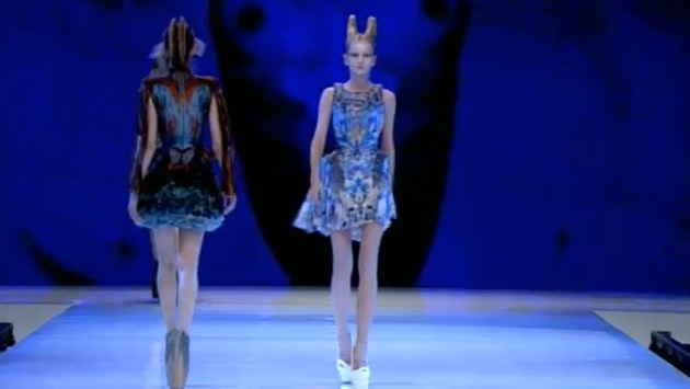 First Look: Alexander McQueen Spring 2010