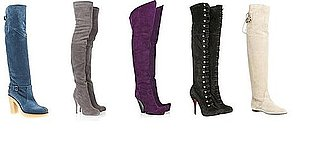 Shopping: Suede Over the Knee Boots