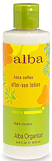 Alba Kona Coffee Hawaiian After-Sun Lotion Review