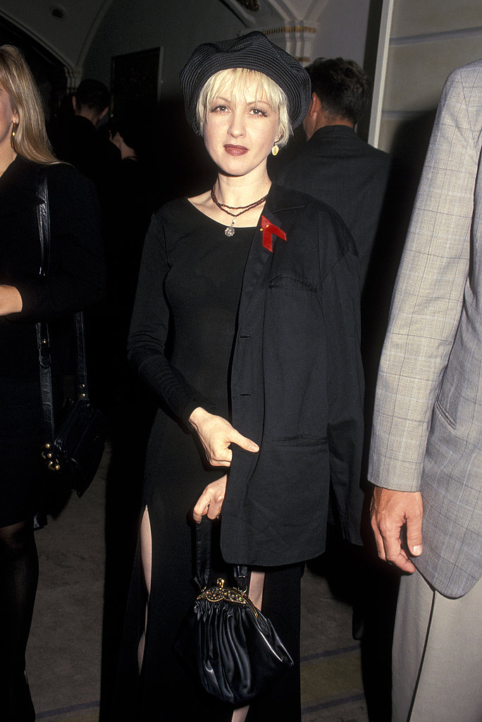 At a Barneys Grand Opening in NYC, 1993