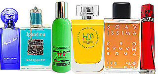 A Rainbow of Colorful Perfumes