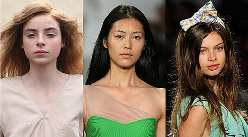Minimal Makeup at 2010 Spring Fashion Week