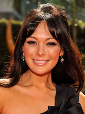 Photo of Lindsay Price at 2009 Primetime Emmy Awards
