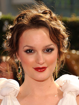 Photo of Leighton Meester at 2009 Primetime Emmy Awards