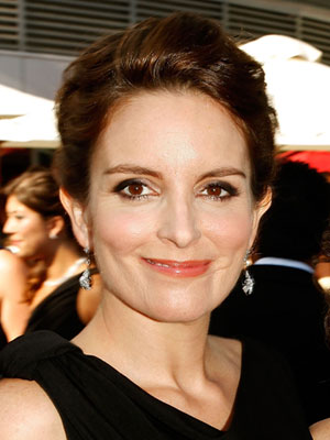 Photo of Tina Fey at 2009 Primetime Emmy Awards