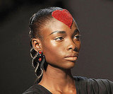 Pictures of the Craziest Hair and Makeup at Spring 2010 Fashion Week